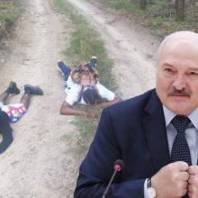 A. Lukašenka grasina Lietuvai: esą per sieną ateis ginkluoti musulmonai