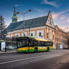 Paaiškėjo, kada į Kauno gatves išvažiuos naujieji troleibusai