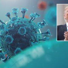 D. Trumpas pareiškė vartojantis vaistą nuo maliarijos hidroksichlorokviną
