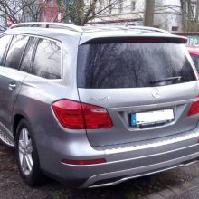 """Įtariamus """"Mercedes-Benz"""" vagis sulaikė akimirksniu, gresia iki 10 metų kalėjimo"""