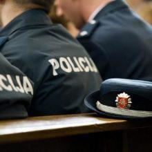 Skandalas Alytaus policijoje: įtaria dokumentų klastojimą, sulaikyti du darbuotojai