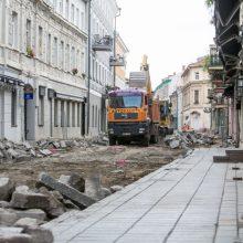 Aistros dėl uždarytos Vilniaus gatvės: ragina atleisti verslininkus nuo miesto mokesčių