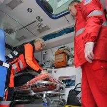 Iš ministerijos – greitosios pagalbos automobiliai be medicininės įrangos