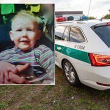 Telšių rajone dingo kieme žaidęs dvejų metų berniukas
