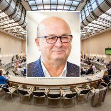 Karantino metu vyko tarybos posėdis: V. Matijošaitis teigia, kad miestas nesustojo