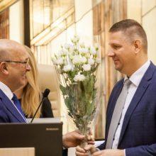 Permainos Kauno miesto savivaldybėje – G. Petrauską pakeitė V. Šiliauskas
