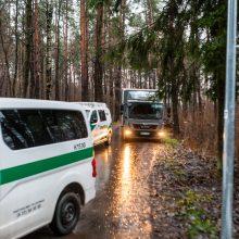 Kas pavertė Kleboniškio mišką sprogdinimų poligonu?