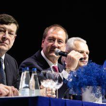 V. Uspaskichas Darbo partijos suvažiavime: rinkimai į savivaldą bus sunkūs