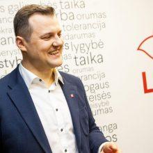 Socialdemokratų partijos pirmininku perrinktas G. Paluckas