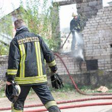 Pačiame Kauno centre – mįslingas gaisras