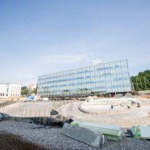Kauno centre atsiras daugiau automobilių stovėjimo vietų