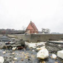 Atsakas projekto prie Zapyškio bažnyčios kritikams: spraga – visai kitur