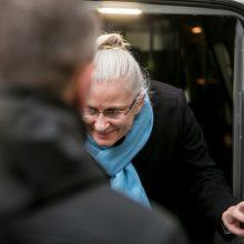 Prokuratūra prašo pratęsti suėmimą N. Venckienei – ji savo kaltės nepripažįsta