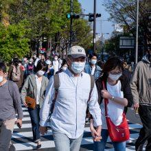 Japonijos premjeras dėl koronaviruso ruošiasi šalyje skelbti nepaprastąją padėtį