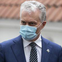 G. Nausėda su Slovėnijos vadovu aptars Europos atsigavimo fondo formavimą