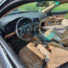 Biržų rajone girtas BMW vairuotojas sukėlė avariją ir spruko iš įvykio vietos