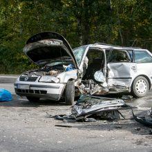 Ateities plente – baisi avarija: žuvo žmogus, trys sužaloti