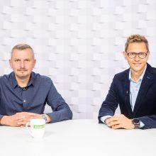 Gražvydas Muižys <span style=color:red;>(iš kairės)</span> ir Vladimiras Vinokurovas