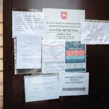 Išpuolio Šančių seniūnijoje atomazga: kaltininkui uždrausta išvykti iš gyvenamosios vietos