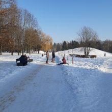 Saulėtos dienos išginė kauniečius į parkus <span style=color:red;>(fotoreportažas)</span>