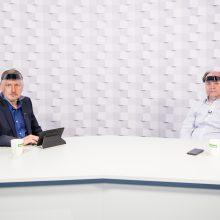 Gražvydas Muižys <span style=color:red;>(iš kairės)</span> ir dr. Vaidas Morkevičius