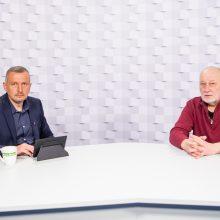 Gražvydas Muižys <span style=color:red;>(iš kairės)</span> ir Romualdas Požerskis