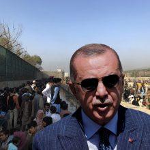 R. T. Erdoganas: Turkija negali perimti iš ES afganistaniečių pabėgėlių naštos
