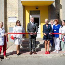Atnaujintas Kauno miesto poliklinikos poskyris Rokuose