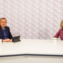 Gražvydas Muižys <span style=color:red;>(iš kairės)</span> ir dr. Aistė Pranckevičienė