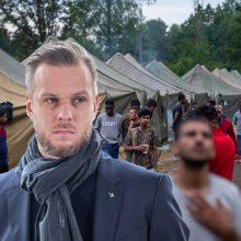 G. Landsbergio žinia diktatoriams dėl neteisėtos migracijos: ne tik, kad nepavyks, bet gaus atgal