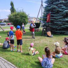 Kauno rajono vaikų vasara – linksma ir turininga