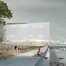 Pasirašyta M. K. Čiurlionio koncertų centro projektavimo sutartis