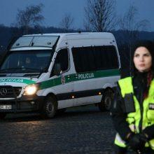 Nauji karantine gyvenančių kauniečių iššūkiai policijai