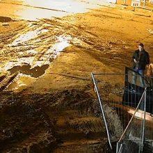 Kauno rajone BMW ekipažas apgadino tilto konstrukcijas ir pabėgo <span style=color:red;>(ieškomi šie vyrai)</span>