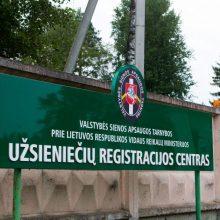 Seimo kontrolierius, nevyriausybininkai lankosi Užsieniečių registracijos centre