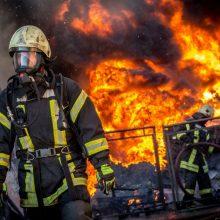 Baugi statistika: per dieną tenka gesinti beveik pusšimtį gaisrų