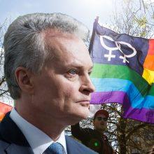 G. Nausėda sureagavo į LGBT bendruomenės reikalavimą įsivaikinti: darysiu viską, kad to nebūtų