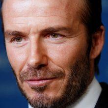 Kas sutepė nepriekaištingą D. Beckhamo reputaciją?