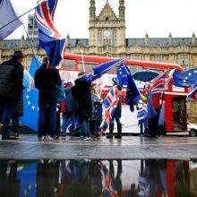"""Iždo sekretorius: JAV turi ruoštis kietajam """"Brexit"""""""