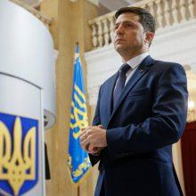 Ukrainoje vyksta vietos valdžios rinkimai ir visuotinė apklausa