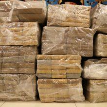 JAV uoste pareigūnai konfiskavo 77 mln. JAV dolerių vertės kokaino siuntą