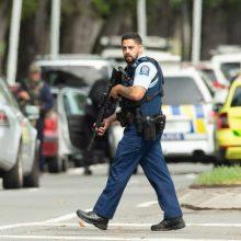 Po šaudynių Naujojoje Zelandijoje – ginklų draudimas