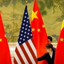"""""""The New York Times"""": JAV slapta išsiuntė du kinų diplomatus"""