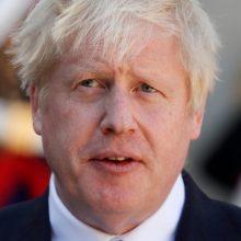 """B. Johnsonas kaltina ES planuojant maisto """"blokadą"""" prieš JK"""