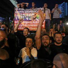Tbilisyje LGBT priešininkai užpuolė žurnalistus