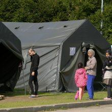 Į Ruklą pradedami perkelti migrantai iš pažeidžiamiausių visuomenės grupių