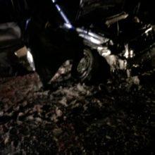 Skaudi avarija Marijampolėje: automobilių kaktomuša pareikalavo moters gyvybės