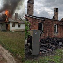 Po gaisro Aleksote belieka prašyti pagalbos: juk amžinai pas kaimynus negyvensi