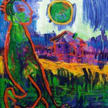 """Paroda """"Red and Green"""": kai kurti įkvėpė vasara"""