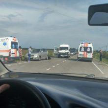 Ringauduose – skaudi avarija, į ligoninę išvežti trys žmonės